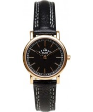Camden Watch Company CWC-24-34A Ladies No 24 Black Leather Strap Watch