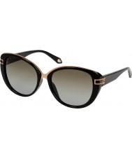Givenchy Ladies SGV876-700 Black Sunglasses