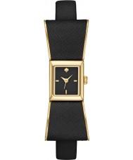 Kate Spade New York 1YRU0899 Ladies Kenmare Black Leather Strap Watch