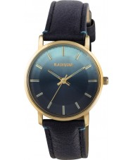 Kahuna KLS-0320L Ladies Blue PU Strap Watch