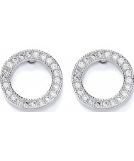 Purity 925 PUR3622-2 Ladies Earrings