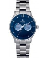 Obaku V192GMCLSC Mens Silver Steel Bracelet Watch