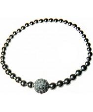 Nevine Crystals BB102 Sterling Silver Bracelet