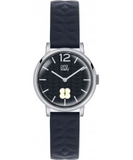 Orla Kiely OK2005 Ladies Frankie Navy Leather Strap Watch