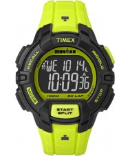 Timex TW5M02500 Ironman 30-Lap Rugged Full Size Green Resin Strap Chronograph Watch