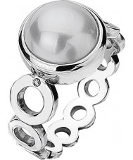 Hot Diamonds DR110-N Ladies Diamonds and Pearls Ring