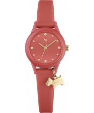 Radley RY2372 Ladies Watch It Papaya Silicone Strap Watch