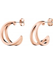 Calvin Klein KJ6VPE100100 Ladies Outline Earrings