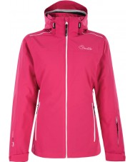 Dare2b DWP305-1Z006L Ladies Work Up Electric Pink Ski Jacket - Size UK 6 (XXS)