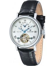 Thomas Earnshaw ES-8047-02 Mens Beaufort Black Crock Leather Strap Watch