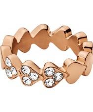 Dyrberg Kern 336999 Ladies Lovette III Rose Gold Plated Ring