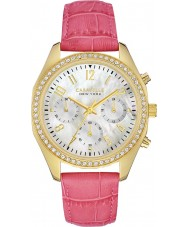 Caravelle New York 44L169 Ladies Melissa White Pink Chronograph Watch