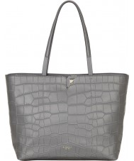 Fiorelli FH8692-GREY Ladies Tate City Grey Croc Tote Bag