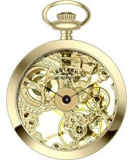 Rotary MP00727-03 Mechanical Pocket Watch with Chain