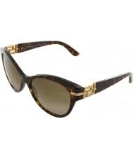 Versace VE4283B 57 Rock Icons Havana 108-13 Sunglasses