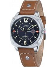 AVI-8 AV-4039-02 Mens Hawker Hunter Tan Leather Strap Watch