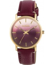 Kahuna KLS-0322L Ladies Berry PU Strap Watch