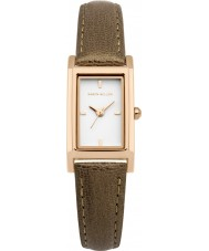 Karen Millen KM114TRG Ladies Brown Leather Strap Watch