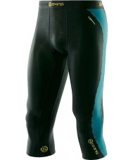 Skins DT00010202000S Mens DNAmic Thermal Alpine Three-quarter Tights - Size S