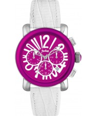 Pocket PK2057 Ladies Rond Chrono Medio White Watch