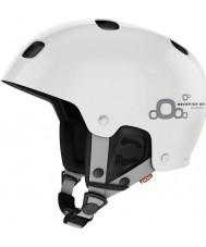 POC PO-66001 Receptor BUG Adjustable 2.0 Hydrogen White Ski Helmet - 59-62cm