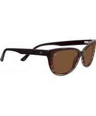Serengeti Sophia Tortoiseshell Black Polarized Drivers Sunglasses