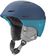 Bolle Millenium Soft Blue and Green Ski Helmet