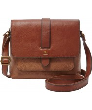 Fossil ZB6749200 Ladies Kinley Brown Cross Body Bag