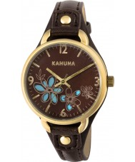 Kahuna KLS-0308L Ladies Brown PU Strap Watch
