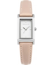 Karen Millen KM114C Ladies Nude Leather Strap Watch