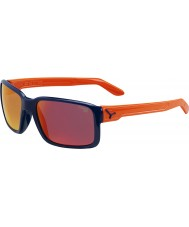 Cebe Dude Shiny Blue Orange Sunglasses