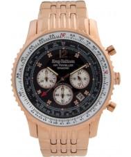 Krug Baümen 600602DS Mens Air Traveller Diamond Watch