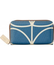Orla Kiely 17SELIN122-4295-00 Ladies Giant Linear Stem Zip Purse
