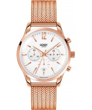Henry London HL39-CM-0034 Ladies Richmond White Rose Gold Chronograph Watch