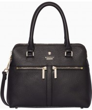Modalu MH6167-BLACK Ladies Pippa Black Mini Grab Bag