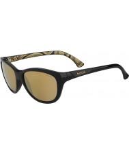 Bolle Greta Shiny Black Polarized AG-14 Sunglasses