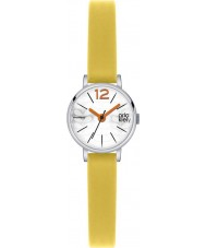 Orla Kiely OK2007 Ladies Frankie Yellow Leather Strap Watch