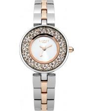 Lipsy LP282 Ladies Stone Set Two Tone Bracelet Watch