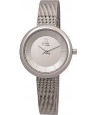 Obaku V146LXCIMC Ladies Silver Tone Mesh Bracelet Watch