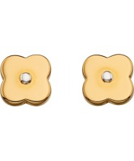 Orla Kiely E5476 Ladies Flora Earrings