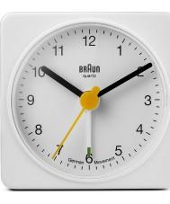 Braun BNC002WHWH Square Alarm Clock - White