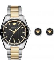 Emporio Armani AR80017 Mens Watch Gift Set