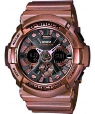 Casio GA-200GD-9BER Mens G-Shock World Time Rose Gold Combi Watch