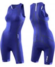 2XU Ladies Active Nautic Blue Trisuits