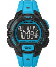 Timex TW5M02700 Ironman 30-Lap Rugged Full Size Blue Resin Strap Chronograph Watch