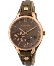 Kahuna KLS-0310L Ladies Taupe PU Strap Watch