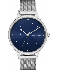 Skagen SKW2391 Ladies Anita Silver Mesh Bracelet Watch with Austrian Crystals