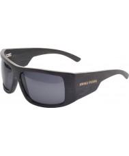 Swole Panda Black Polarized Bamboo Sports Sunglasses