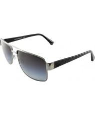 Emporio Armani EA2002 57 Essential Leisure Gunmetal 30168G Polarized Sunglasses