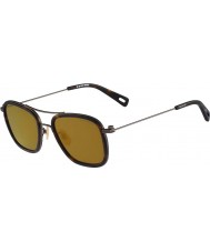 G Star GS111S Double Rackler Havana Sunglasses